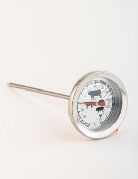 Termómetro analógico ºC esfera grande