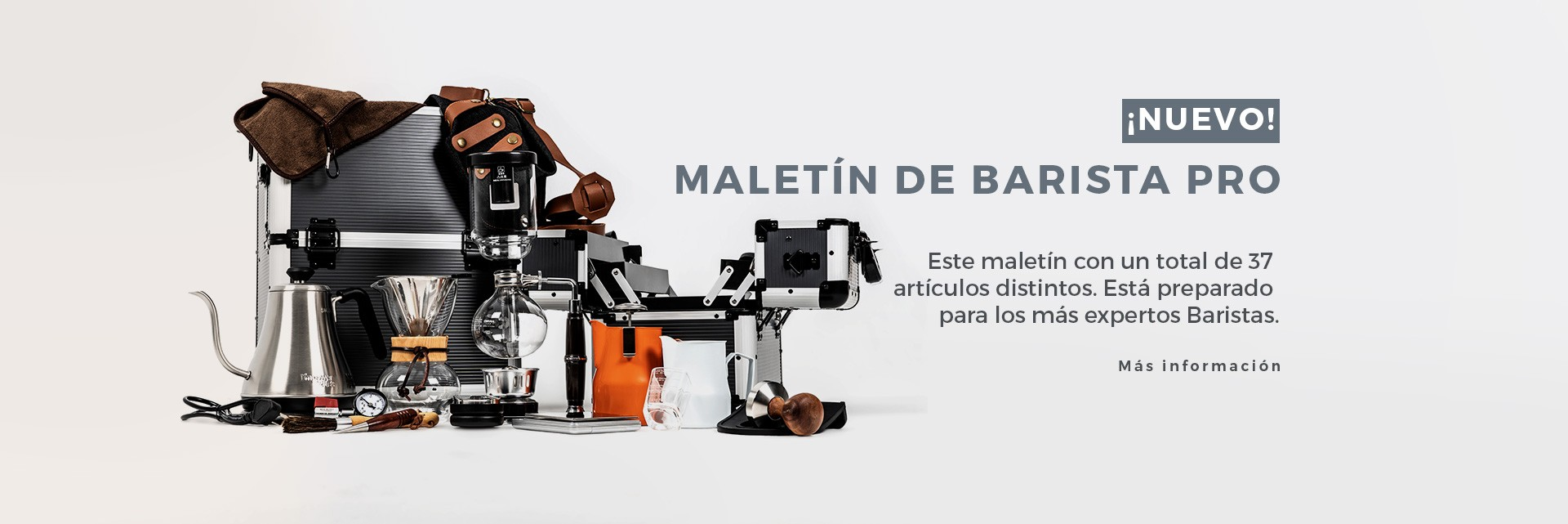 Maletín Barista Profesional Pro Max